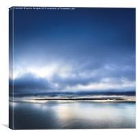 Blue Mist, Skye Islands, Canvas Print