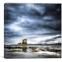 Castle Stalker, Argyll, Canvas Print