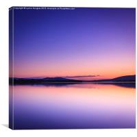 Luminescence, Loch Lomond, Canvas Print