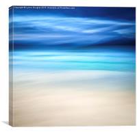 Blue Hills, Luskentyre, Isle of Harris, Canvas Print