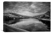 Walkerwood Reservoir, Stalybridge, Canvas Print