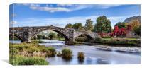 Pont Fawr, Canvas Print