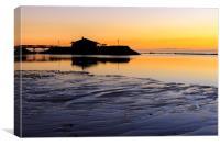 Sunrise  Fuerteventura, Canvas Print