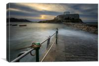 Fort grey Guernsey  , Canvas Print
