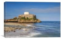 Fort Grey Guernsey     , Canvas Print