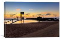 Fuerteventura sunrise , Canvas Print