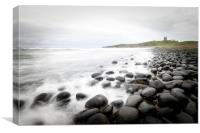 Dunstanburgh Castle , Canvas Print