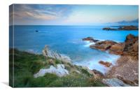 Guernsey Sunset , Canvas Print