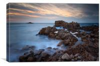 Guernsey Sunset  , Canvas Print