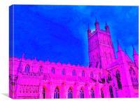 Pink prayer , Canvas Print