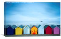Herne Bay View, Canvas Print