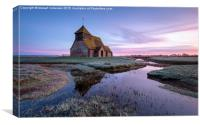 Fairfield Church, Canvas Print
