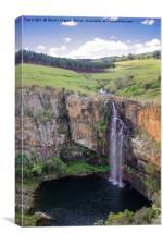 Majestic Falls, Canvas Print