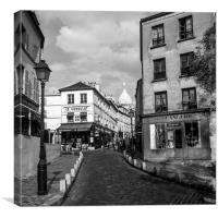MontmarteParis France, Canvas Print