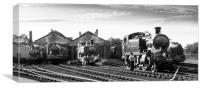 Didcot Railway Centre, Canvas Print