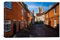 Saint Andrews Church , Farnham Surrey,England , Canvas Print
