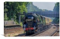 Bournemouth Belle 50th anniversary steam train Jul, Canvas Print