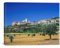 ASSISI, UMBRIA  ITALY , Canvas Print