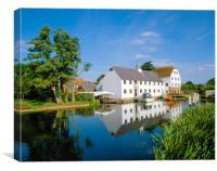 Hambleden Mill,Buckinghamshire, England, Canvas Print