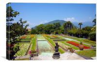 Villa Taranto Gardens,Lake Maggiore, , Canvas Print