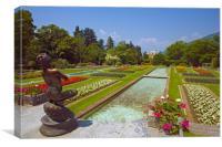 Villa Taranto Gardens,Lake Maggiore,Italy, Canvas Print