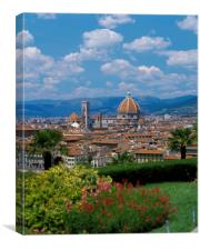 FLORENCE ITALY , Canvas Print