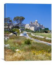 Mdina , Malta , Canvas Print