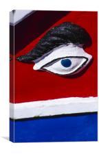 The Eye of Osiris, Malta, Canvas Print