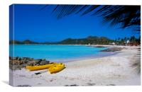 Antigua , Caribbean , Canvas Print