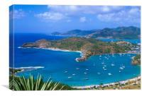 English Harbour Antigua, Caribbean , Canvas Print