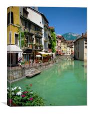 ANNECY, RHONE ALPS FRANCE , Canvas Print
