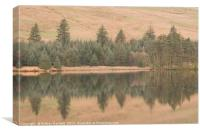 Cantref Reservoir, South Wales, UK., Canvas Print