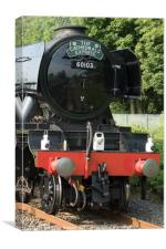 The Flying Scotsman 'The Cathedrals Express', Canvas Print