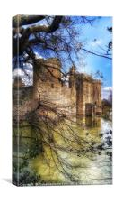 Castle through the trees , Canvas Print