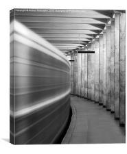 Metro #0110, Canvas Print