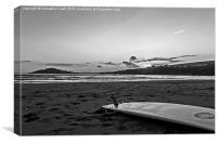 beach bantham, Canvas Print