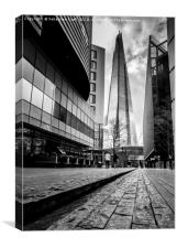 Londons the Shard, Canvas Print