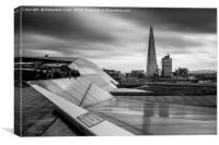 Lines at the Shard , Canvas Print