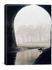 Riversvale Through the Aquaduct, Canvas Print