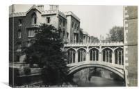 Bridge of Sighs - St John's College, Cambridge, Canvas Print