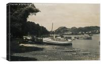 Conwy Estuary in Wales 1942, Canvas Print