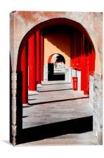Gateway, Canvas Print