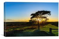 Bratley View Sunset, Canvas Print
