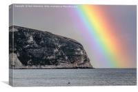 Amazing Rainbow, Canvas Print