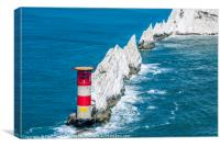 The Needles Lighthouse, Canvas Print