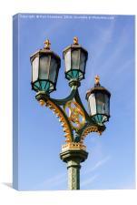 London Street Lamp, Canvas Print