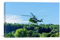 Great Western Air Ambulance, Canvas Print