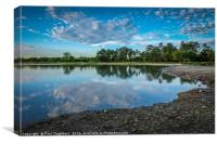 New Forest Reflection, Canvas Print