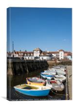 Lymington Quay, Canvas Print