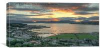 Cardwell Bay Sunset, Canvas Print